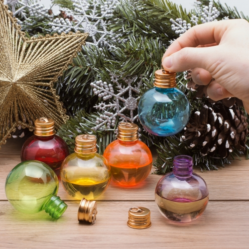 Christmas Spirit Bauble Shot Glasses