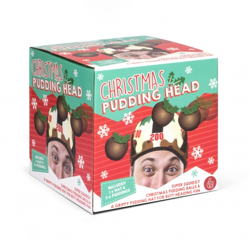 Christmas Pud Head Large Image