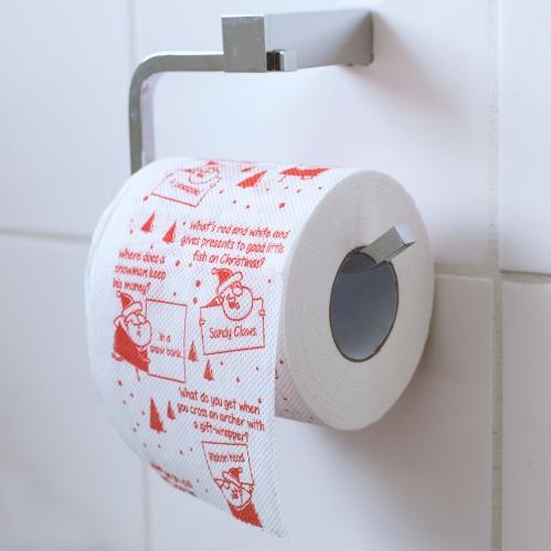 Christmas Joke Toilet Roll Large Image