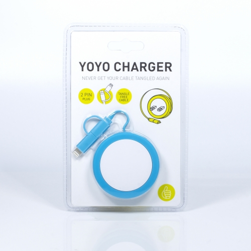 Yo-Yo Charging Cable - 2 Pin