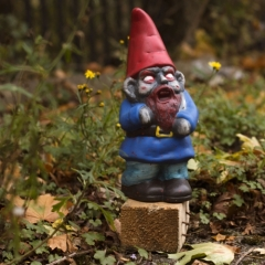 Nain de jardin zombi Ref 0001134